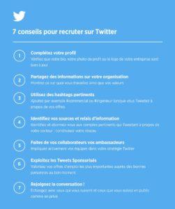 Recruter sur twitter